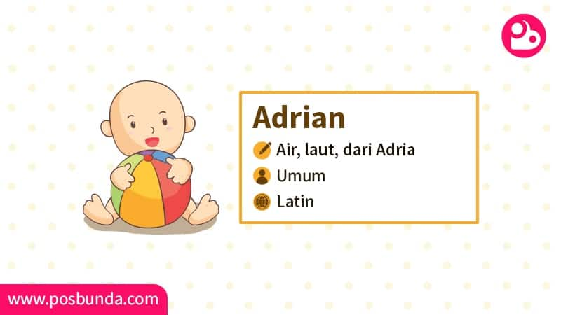 Arti Nama Adrian - Adrian