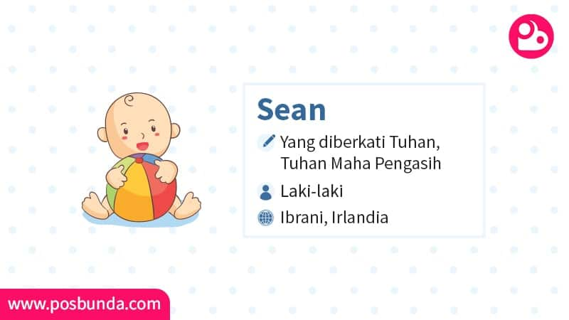 Arti Nama Sean - Sean