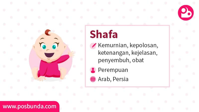 Arti Nama Shafa - Shafa