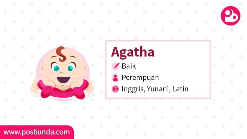 Arti Nama Agatha - Agatha
