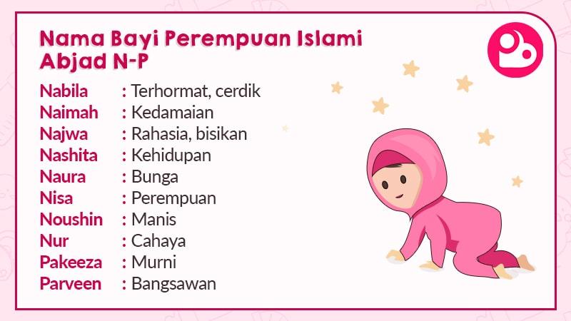 Nama Anak Perempuan Islami Berawalan N dan P