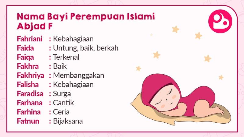 700 Nama Bayi Perempuan Islami Pilihan Posbunda