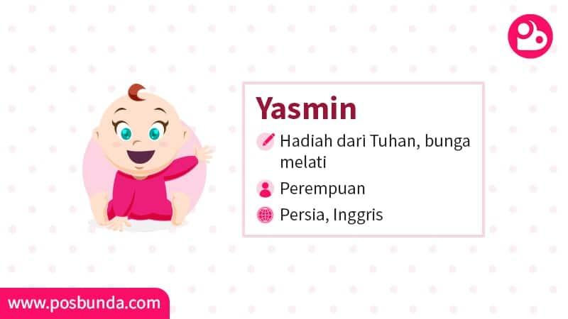 Arti Nama Yasmin - Yasmin