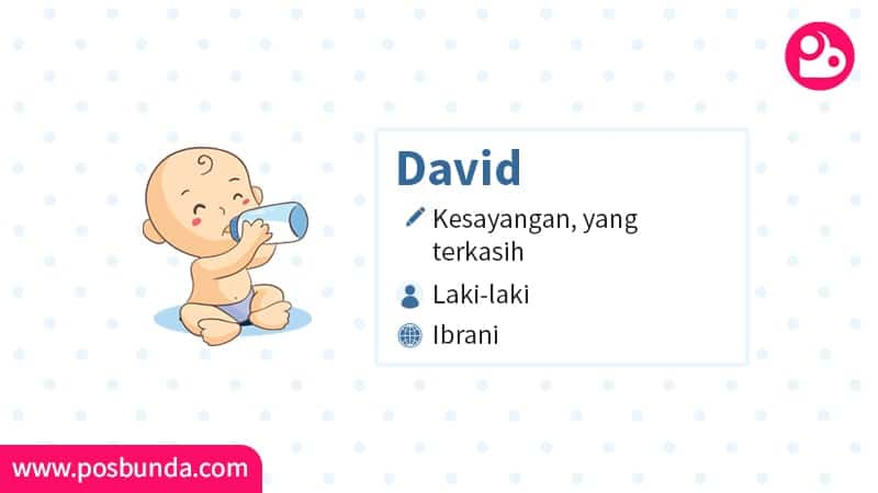Arti Nama David - David