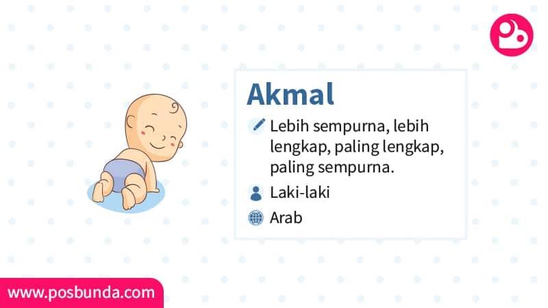 Arti Nama Akmal - Akmal