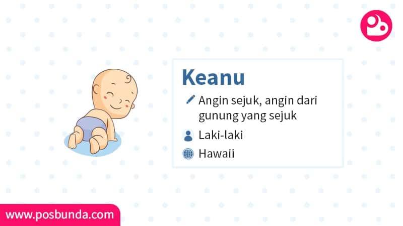 Arti Nama Keanu - Keanu