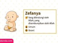 Arti Nama Zefanya - Zefanya