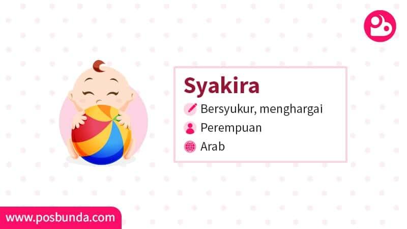 Arti Nama Syakira - Syakira
