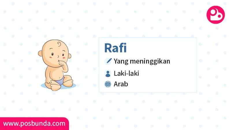 Arti Nama Rafi - Rafi
