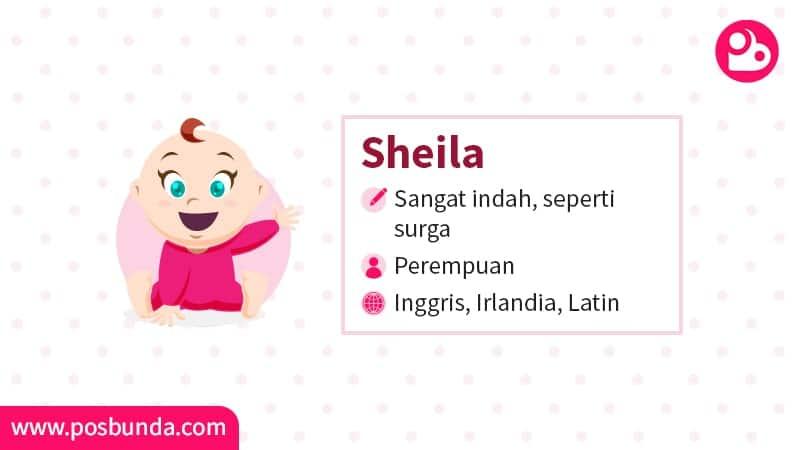 Arti Nama Sheila - Sheila