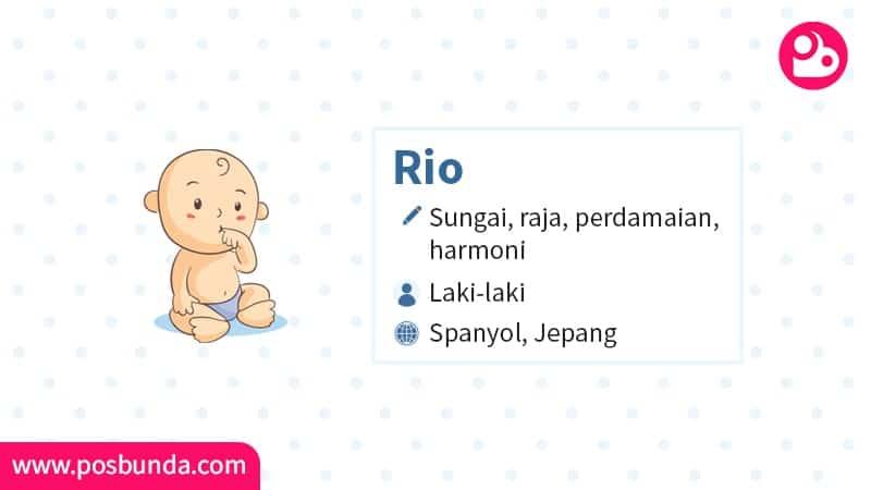 Arti Nama Rio - Rio