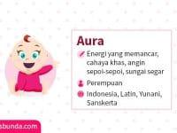 Arti Nama Aura - Aura