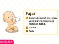 Arti Nama Fajar - Fajar