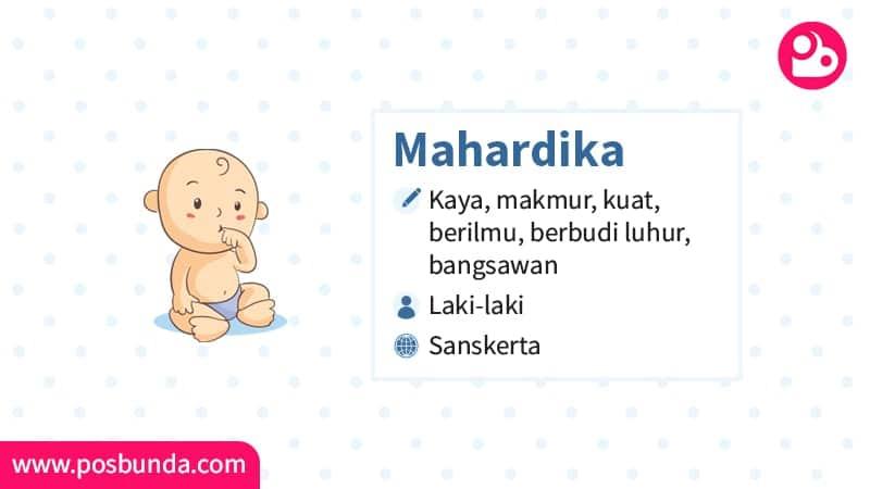 Arti Nama Mahardika - Mahardika