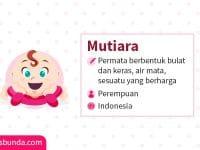 Arti Nama Mutiara - Mutiara
