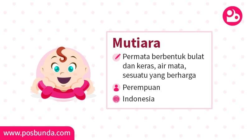 Arti Nama Mutiara Posbunda