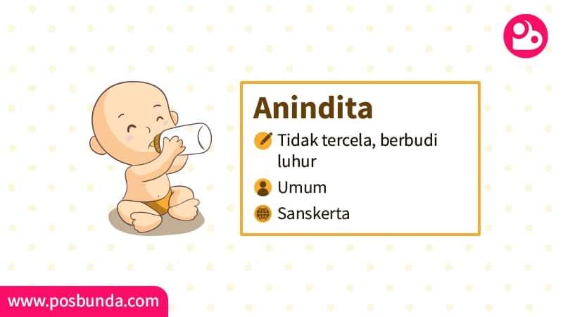 Arti Nama Anindita - Anindita