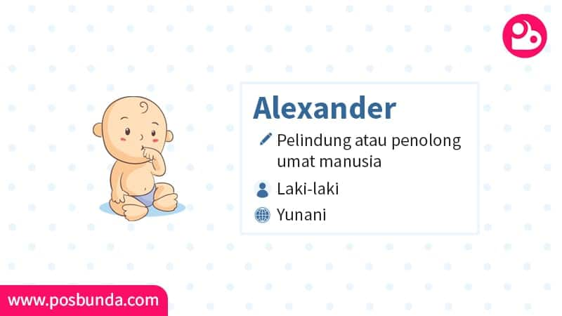 Arti Nama Alexander - Alexander