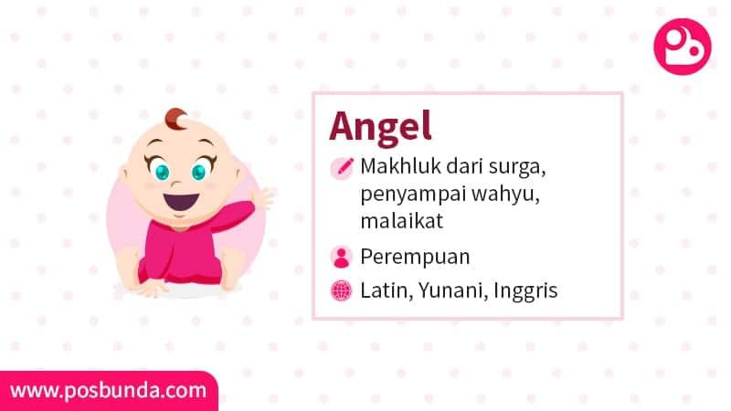 Arti Nama Angel - Angel