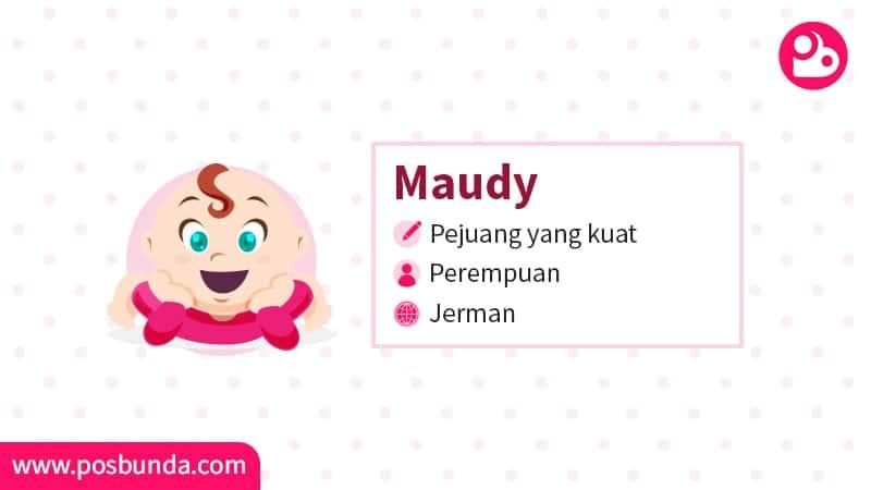 Arti Nama Maudy - Maudy
