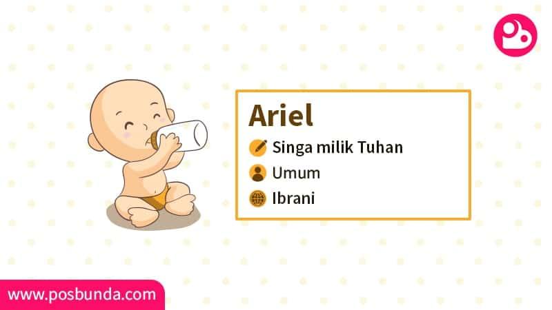 Arti Nama Ariel - Ariel
