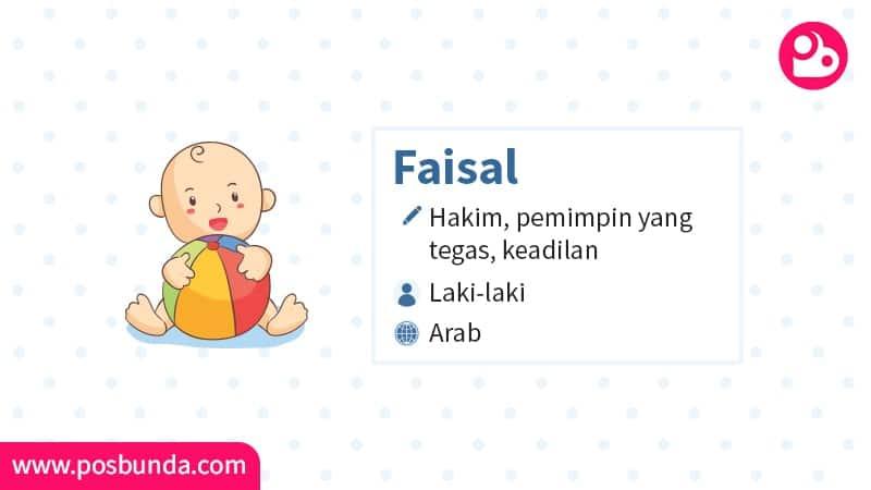 Arti Nama Faisal - Faisal