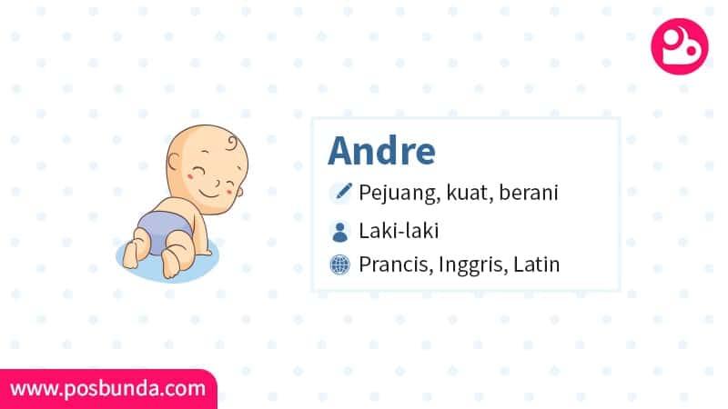 Arti Nama Andre - Andre