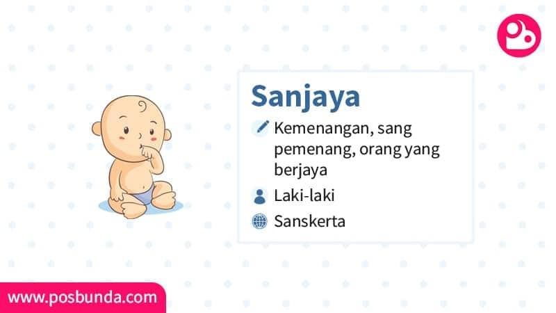Arti Nama Sanjaya - Sanjaya