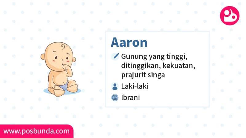 Arti Nama Aaron - Aaron