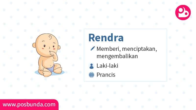 Arti Nama Rendra - Rendra