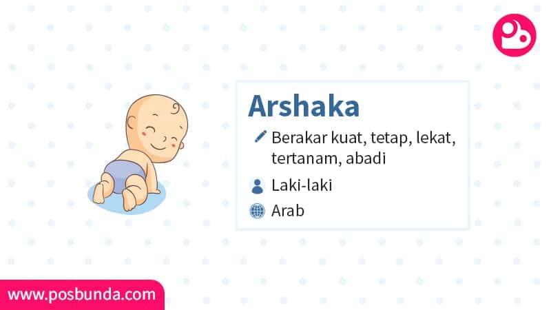 Arti Nama Arshaka - Arshaka