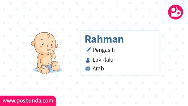 Arti Nama Rahman - Rahman