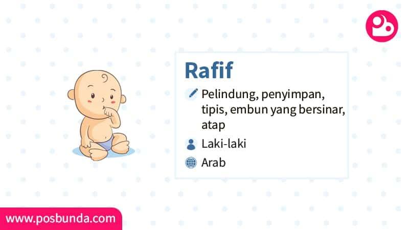 Arti Nama Rafif - Rafif