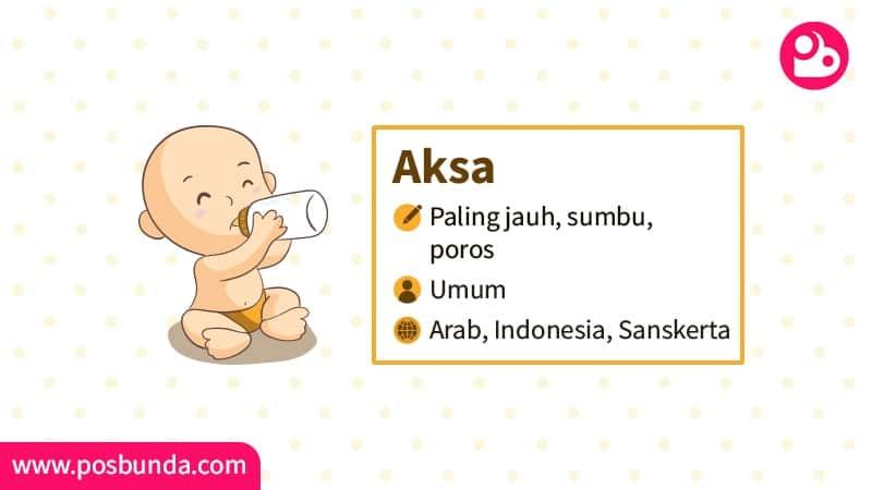 Arti Nama Aksa - Aksa