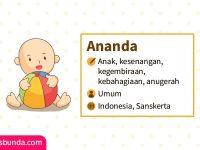 Arti Nama Ananda - Ananda