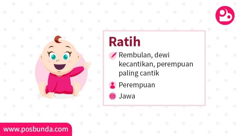 Arti Nama Ratih - Ratih