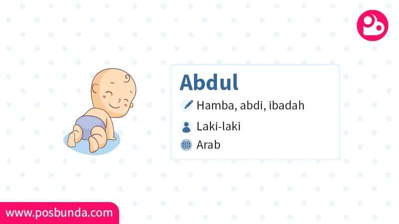 Arti Nama Abdul - Abdul