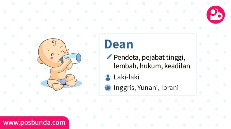 Arti Nama Dean - Dean