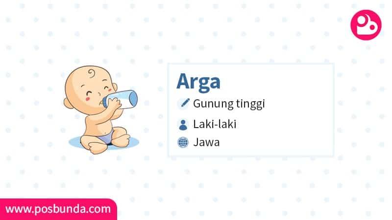 Arti Nama Arga - Arga