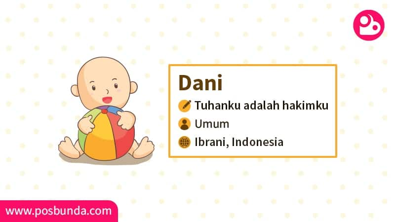 Arti Nama Dani - Dani