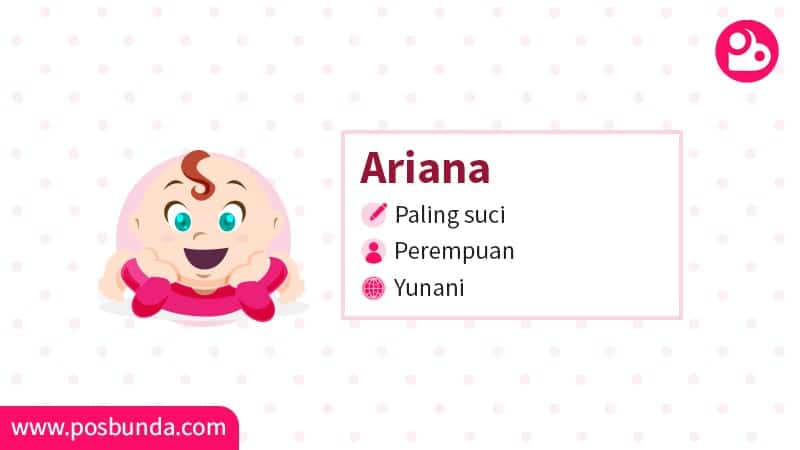 Arti Nama Ariana Posbunda