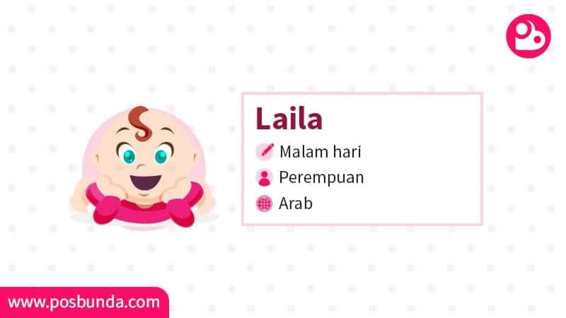 Arti Nama Laila - Laila