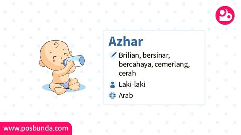 Arti Nama Azhar - Azhar