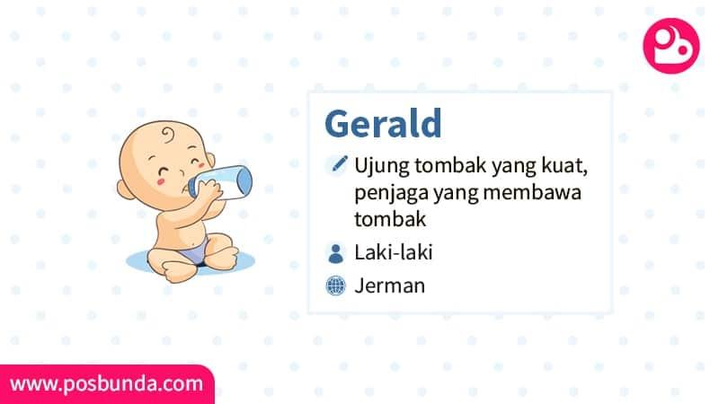 Arti Nama Gerald - Gerald