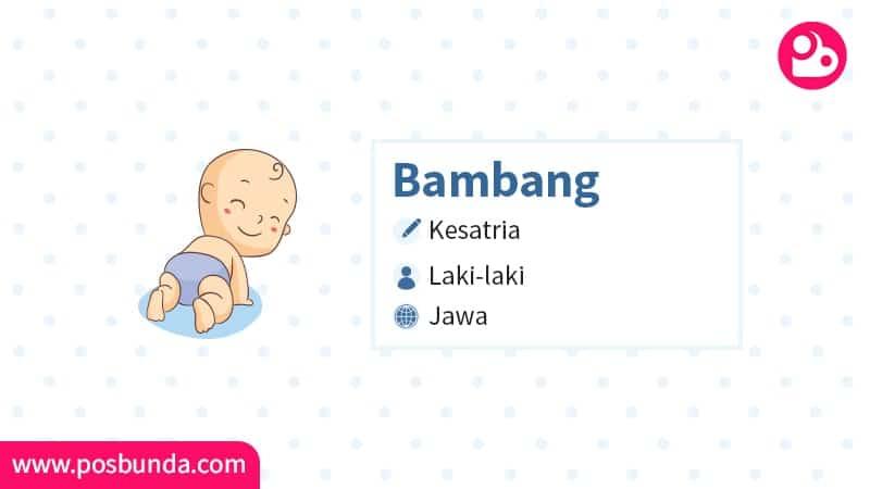 Arti Nama Bambang - Bambang