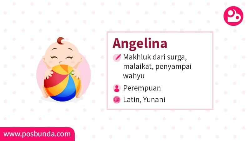 Arti Nama Angelina - Angelina