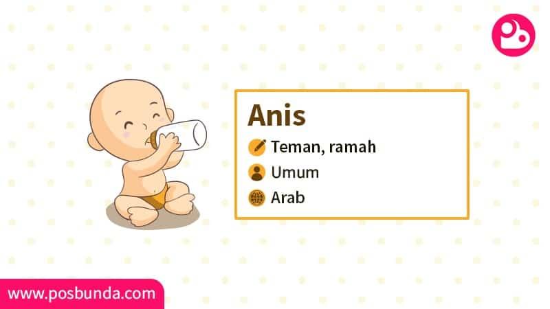 Arti Nama Anis - Anis