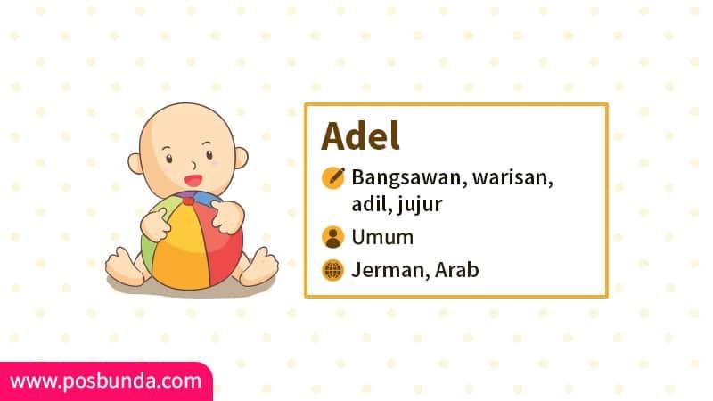 Arti Nama Adel - Adel