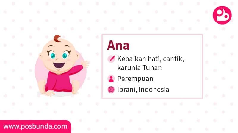 Arti Nama Ana - Ana
