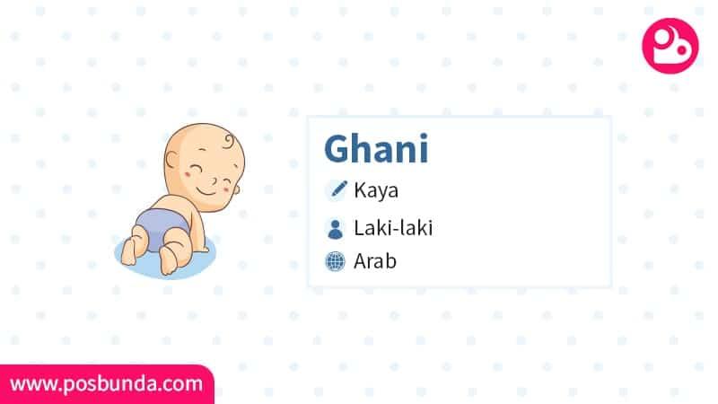 Arti Nama Ghani - Ghani
